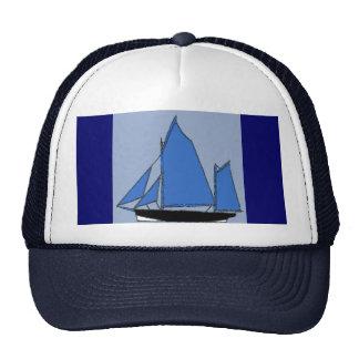 bateau à voile casquettes de camionneur