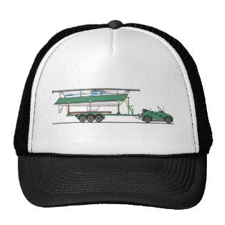 Bateau à voile de voiture d'Eco Casquette De Camionneur