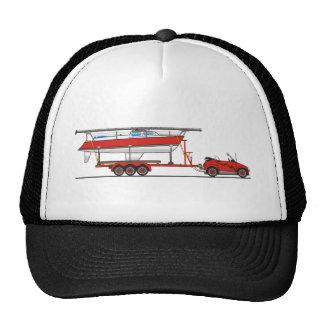 Bateau à voile de voiture d'Eco Casquette Trucker