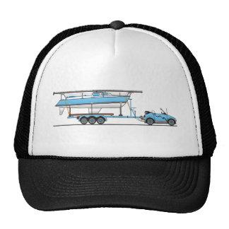 Bateau à voile de voiture d'Eco Casquettes De Camionneur
