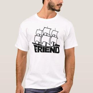 Bateau d'ami d'amitié t-shirt
