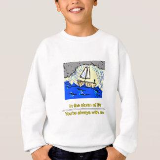 Bateau dans la tempête sweatshirt
