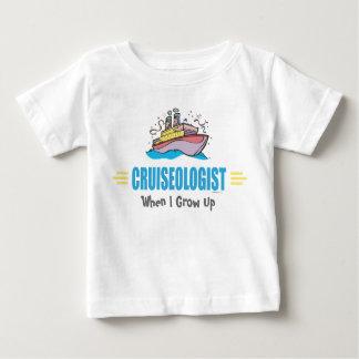 Bateau de croisière drôle t-shirt pour bébé