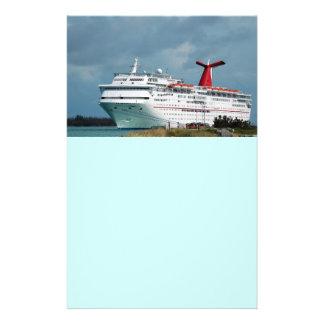 bateau de croisière prospectus 14 cm x 21,6 cm