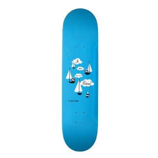 Bateau de l'ONU de sur de suis de Je ! Skateboard 20 Cm