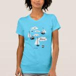 Bateau de l'ONU de sur de suis de Je ! T-shirt