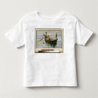 Bateau de pêche, 1881 t-shirt pour les tous petits