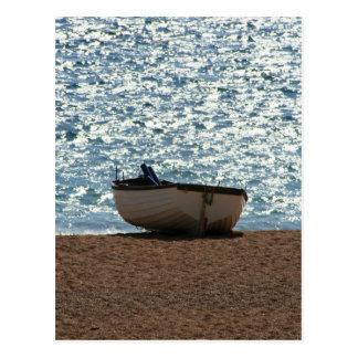 Bateau de pêche carte postale