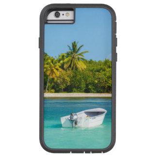 Bateau de pêche tropical de côte dans l'eau de coque tough xtreme iPhone 6
