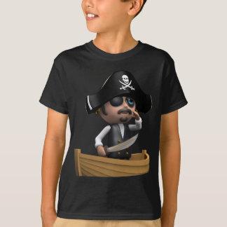 bateau de pirate 3d (n'importe quelle couleur U T-shirt