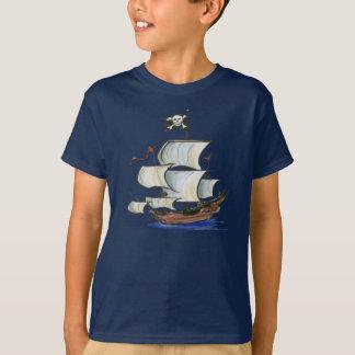Bateau de pirate t-shirt