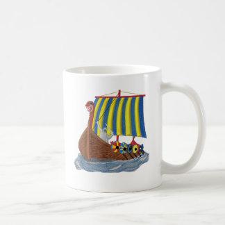 Bateau de Viking de Suédois Mug