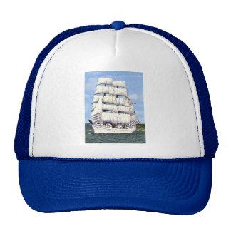 Bateau grand - gréeur carré casquettes de camionneur