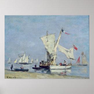 Bateaux à voile, c.1869 posters