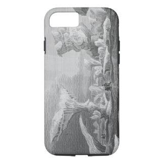 Bateaux dans une bosse parmi la glace, le 24 août coque iPhone 7
