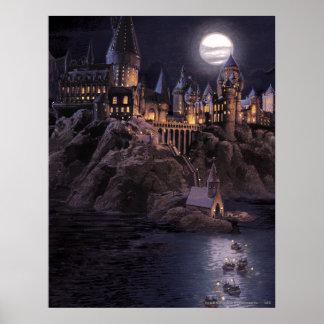 Bateaux de Hogwarts à se retrancher Affiche
