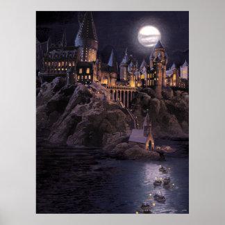 Bateaux de Hogwarts à se retrancher Poster