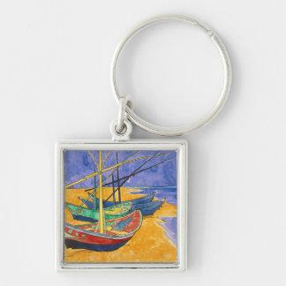 Bateaux de pêche de Vincent van Gogh | sur la Porte-clés