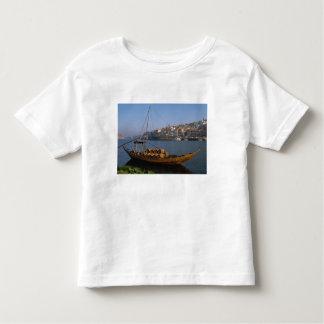 Bateaux de Rabelo, Porto, Portugal T-shirt Pour Les Tous Petits