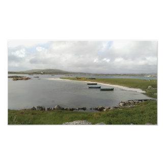 Bateaux d'île de Mweenish, copie de photo de