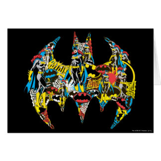 Batgirl - meurtrier carte de vœux