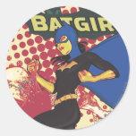 Batgirl Sticker Rond