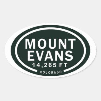 Bâti Evans autocollants de montagne de 14.265 pi