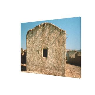 Bâtiment à vieux Jéricho Toiles