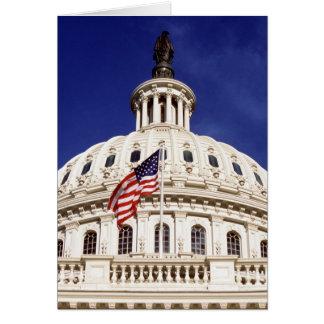 Bâtiment de capitol des USA, Washington DC Carte De Vœux