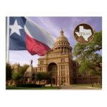 Bâtiment de capitol d'état du Texas, Austin, TX Cartes Postales