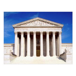 Bâtiment de court suprême des USA, Washington DC, Carte Postale