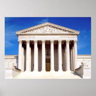 Bâtiment de court suprême des USA, Washington DC,  Posters