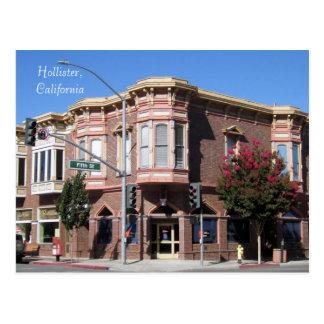 Bâtiment historique de Hollister CA au 5ème et San Cartes Postales