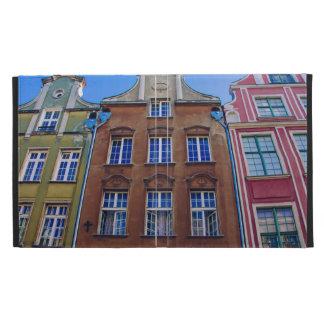 Bâtiments colorés à Danzig Danzig Pologne Coque iPad