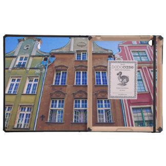 Bâtiments colorés à Danzig Danzig Pologne Coques iPad