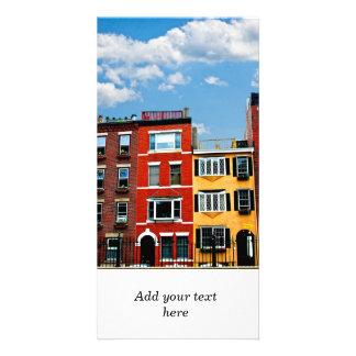Bâtiments de Boston Photocarte Customisée