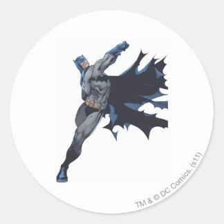 Batman a réduit en lambeaux le cap sticker rond