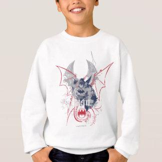 Batman avec gris et rouge sweatshirt