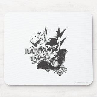 Batman avec la vraie batte tapis de souris