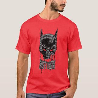 Batman avec l'incantation t-shirt