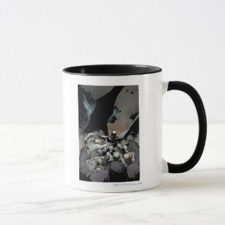 Batman combattant des ennemis de voûte mugs