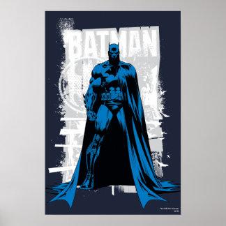 Batman comique - cru à pleine vue affiches