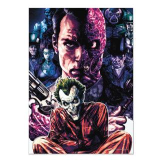 Batman - couverture #11 démontée par Arkham Carton D'invitation 12,7 Cm X 17,78 Cm