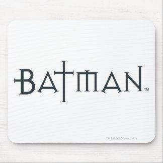 Batman dans la police dénommée tapis de souris