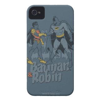 Batman et graphique affligé par Robin Coque iPhone 4