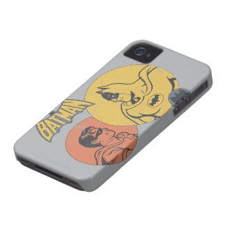 Batman et graphique de Robin - affligé Coques iPhone 4 Case-Mate