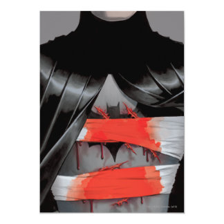 Batman et la couverture folle du moine #5 carton d'invitation  12,7 cm x 17,78 cm