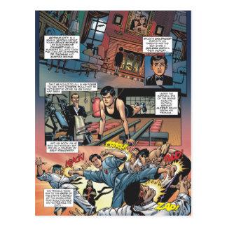 Batman - origines 1 de Bruce Wayne Carte Postale
