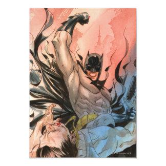 Batman - rues de couverture de Gotham #13 Carton D'invitation 12,7 Cm X 17,78 Cm