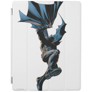 Batman sautant en bas du tir d'action protection iPad